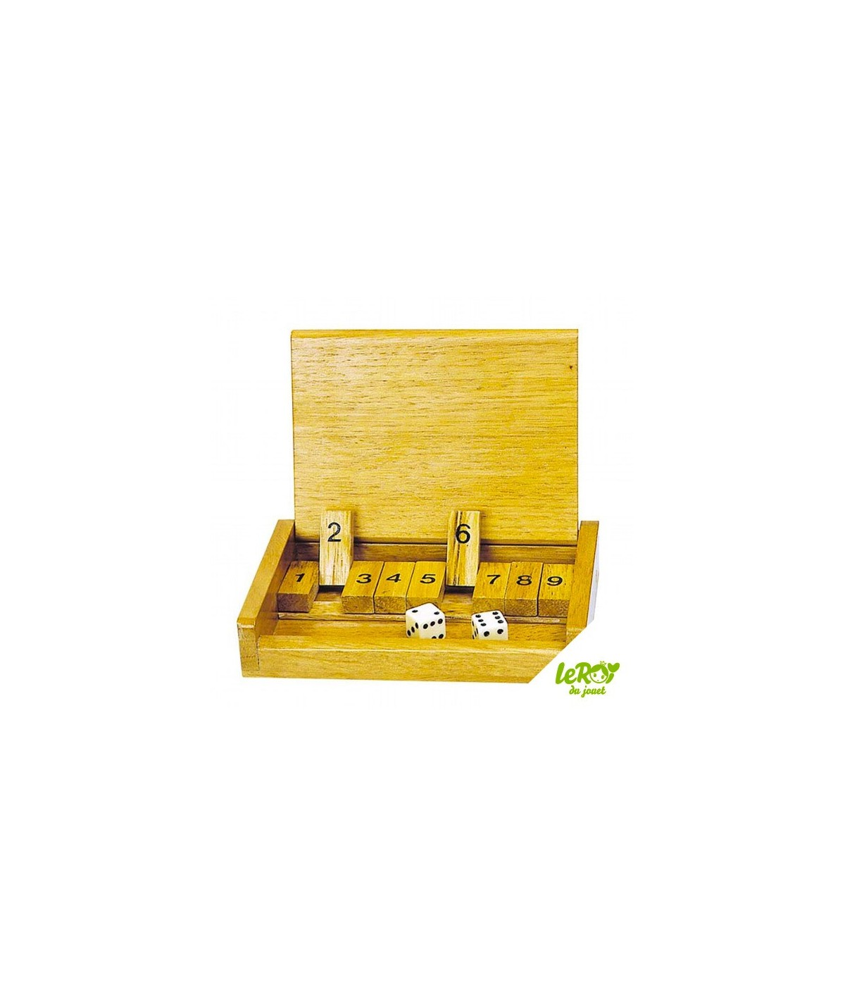 Shut the Box Jeu de Voyage