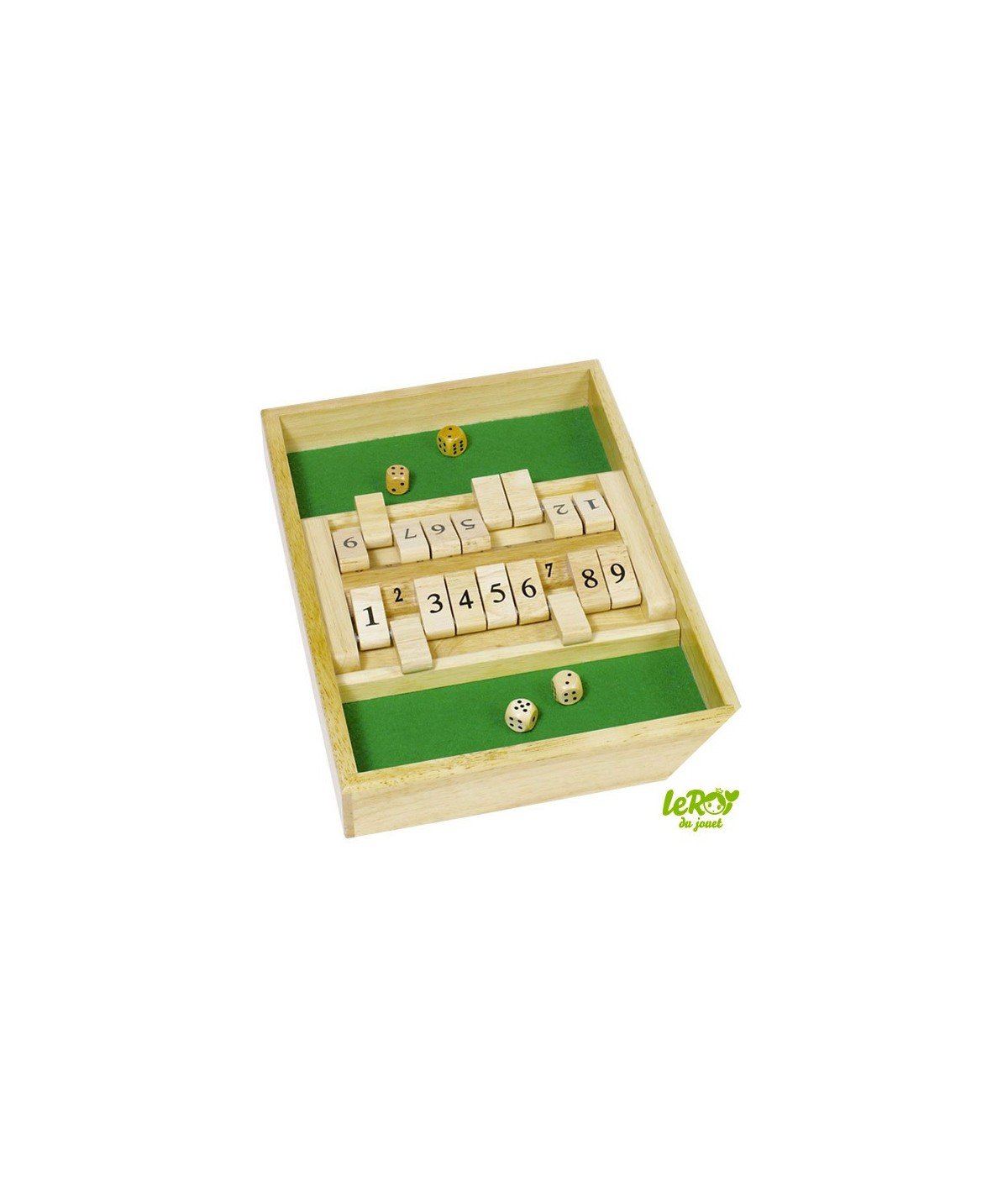 Shut the Box Double Jeu