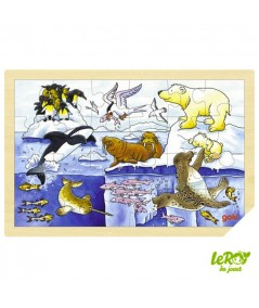 Puzzle Animaux Polaires
